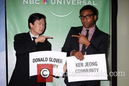 Ken Jeong and Donald Glover The NBC Universal...