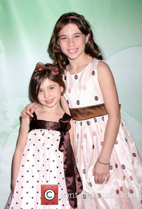 Savannah and Emily Rae The NBC Universal Winter...