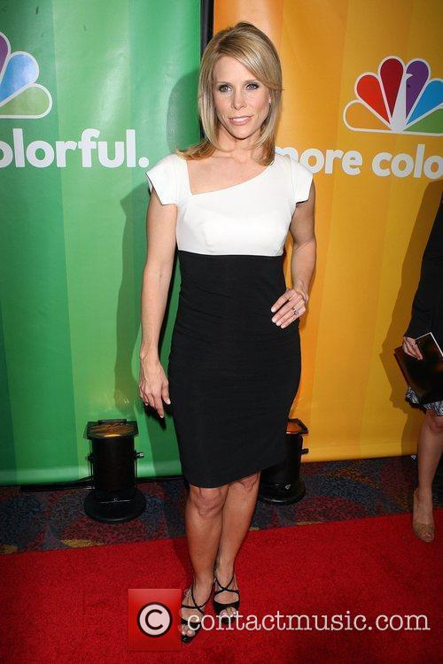Cheryl Hines 2010 NBC Upfront presentation at The...