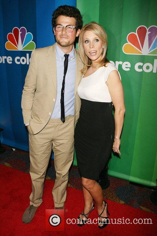 Jacob Soboroff, Cheryl Hines 2010 NBC Upfront presentation...