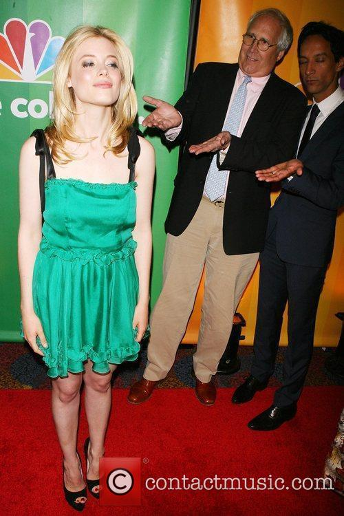 Gillian Jacobs, Chevy Chase, Danny Pud 2010 NBC...