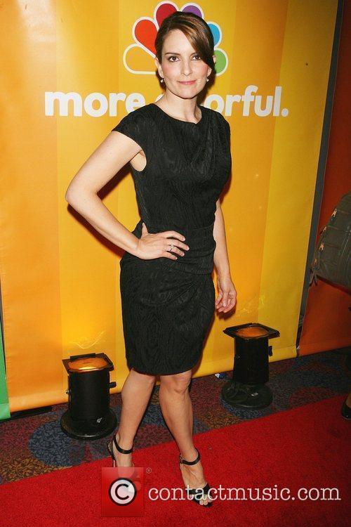 Tina Fey 2010 NBC Upfront presentation at The...
