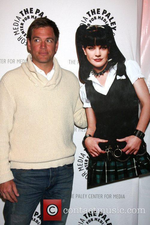 Michael Weatherly and Pauley Perrette Standee The 27th...