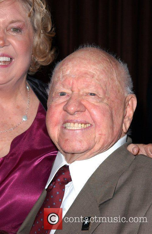 Mickey Rooney and Katherine Jackson 1