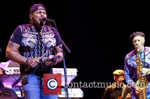 The Neville Brothers perform live at the Wellmont...