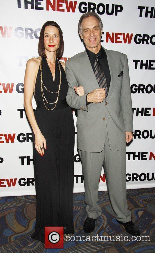 Keith Carradine and wife Hayley DuMond  The...