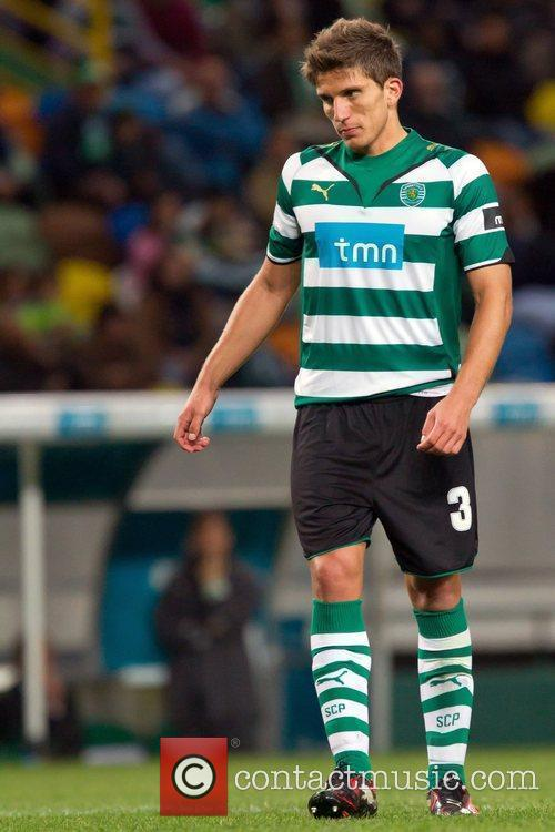 Daniel Carrico from Sporting during the football match...
