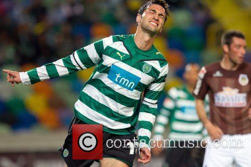 Tonel from Sporting during the football match between...