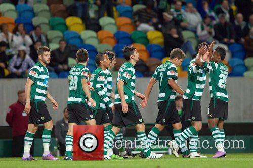 Sporting team during the football match between Sporting...
