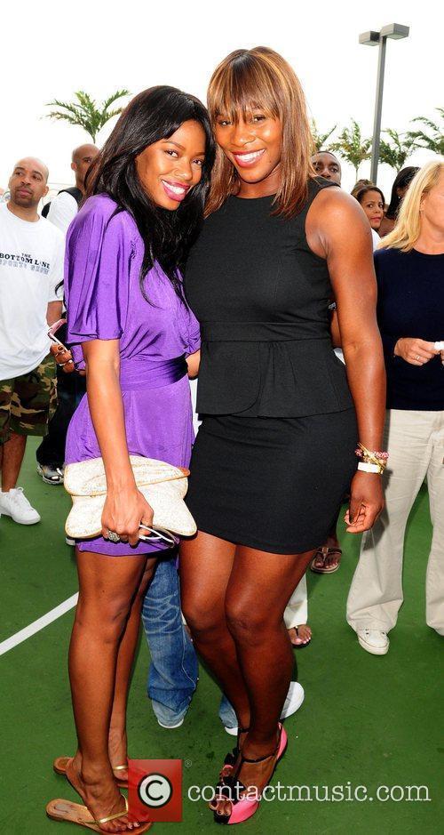Jill Marie Jones and Serena Williams Launch of...