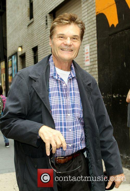 Fred Willard out and about in New York