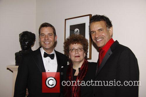 Steven Reineke, Judith Clurman and Brian Stokes Mitchell...