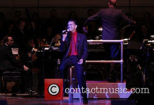 Brian Stokes Mitchell The New York Pops celebrate...