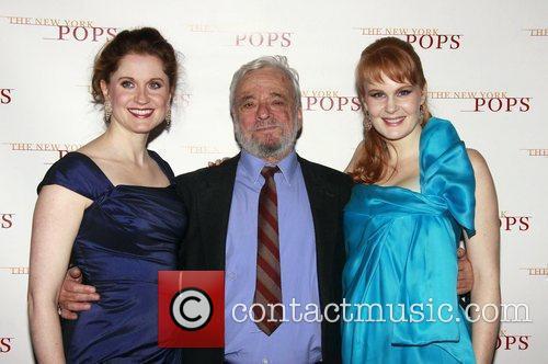 Christiane Noll, Stephen Sondheim and Kate Baldwin 'The...