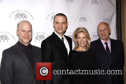 Richie Jackson, Jordan Roth, Daryl Roth and Steven...
