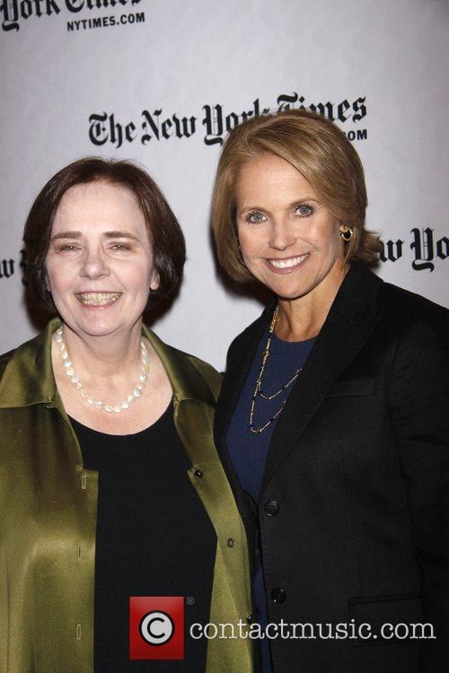 Gail Collins and Katie Couric 10th Annual New...