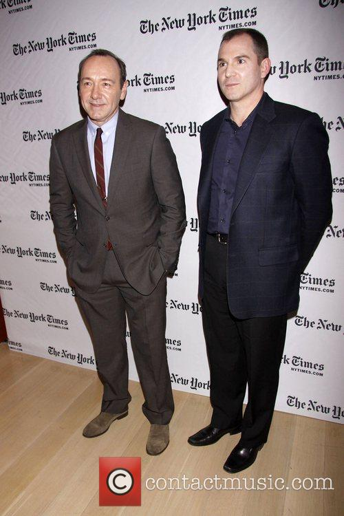 Kevin Spacey and Frank Bruni 10th Annual New...