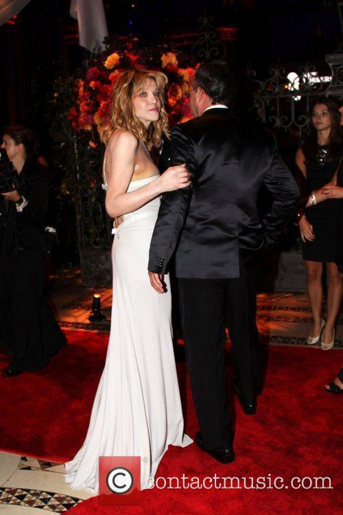 Courtney Love and Andrew Saffir 2010 New Yorkers...