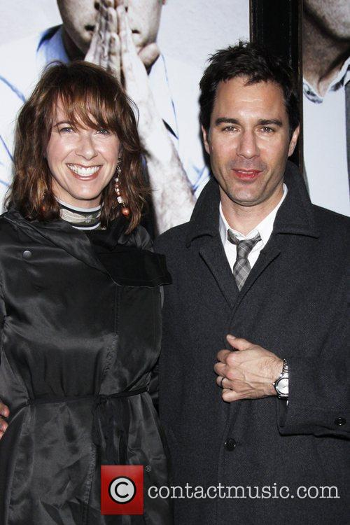 Eric McCormack and his wife Janet Holden...