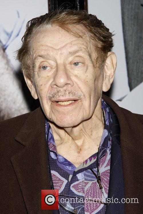 Jerry Stiller  Opening night of the Broadway...