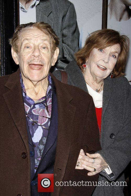Jerry Stiller and Anne Meara  Opening night...