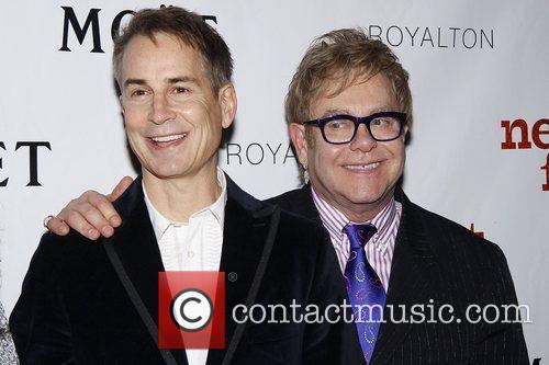 Geoffrey Nauffts, David Furnish and Elton John 3