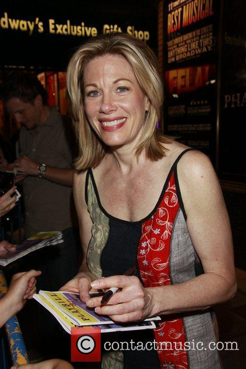 Cast Change: The first performance of Marin Mazzie...