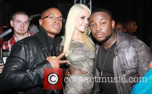 Sam Jones, Karissa Shannon, Ne-yo and Pleasure P 5