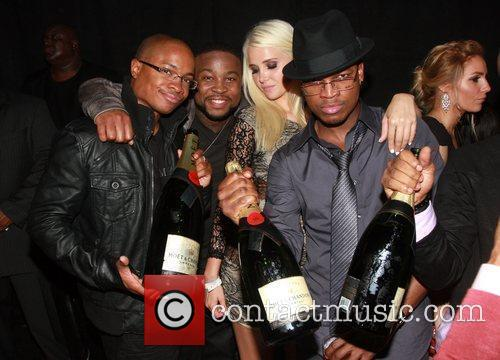 Sam Jones, Karissa Shannon, Ne-yo and Pleasure P 2