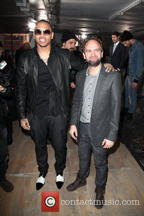 Chris Brown and Andrew Buckler Mercedes-Benz IMG New...