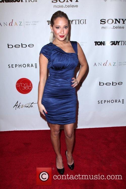 Adrienne Bailon Mercedez-Benz IMG New York Fashion Week...