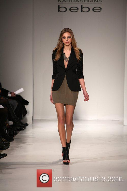 Model Mercedez-Benz IMG New York Fashion Week Fall...