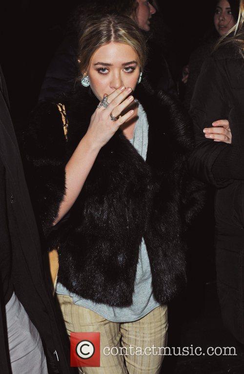Ashley Olsen  Mercedes-Benz IMG New York Fashion...