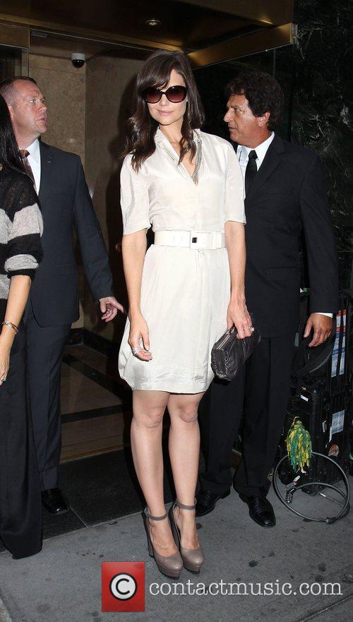 Katie Holmes Mercedes-Benz IMG New York Fashion Week...