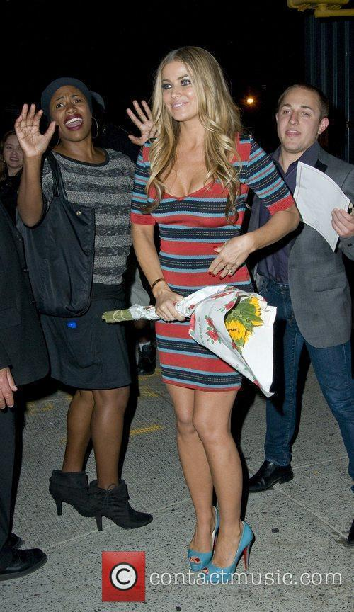 Carmen Electra Mercedes-Benz IMG New York Fashion Week...