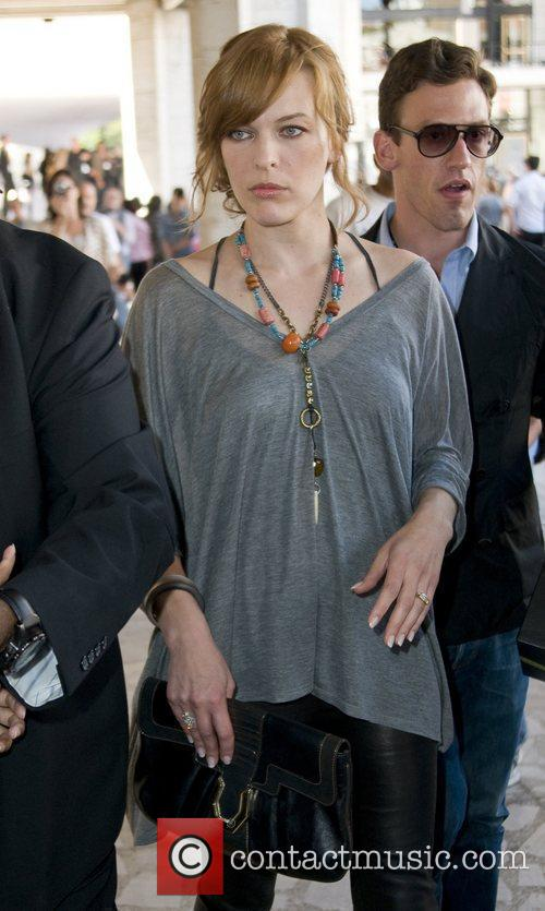 Milla Jovovich Mercedes-Benz IMG New York Fashion Week...