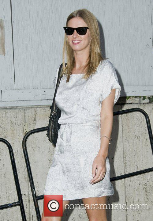 Nicky Hilton Mercedes-Benz IMG New York Fashion Week...
