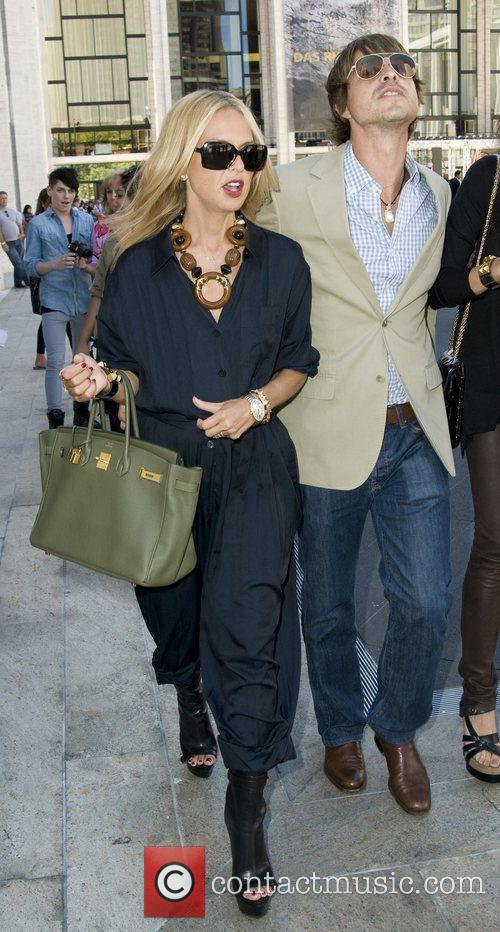 Rachel Zoe and Guest Mercedes-Benz IMG New York...