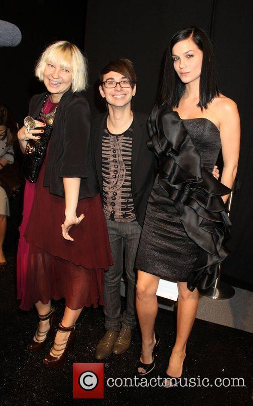 Sia, Christian Siriano, Leigh Lezark, New York Fashion Week