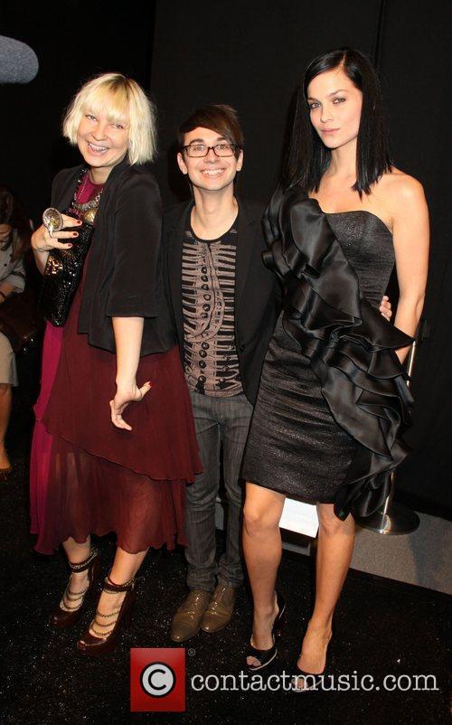 Sia, Christian Siriano and Leigh Lezark 2