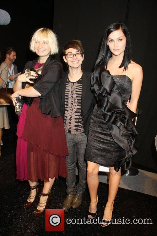Sia, Christian Siriano and Leigh Lezark 3