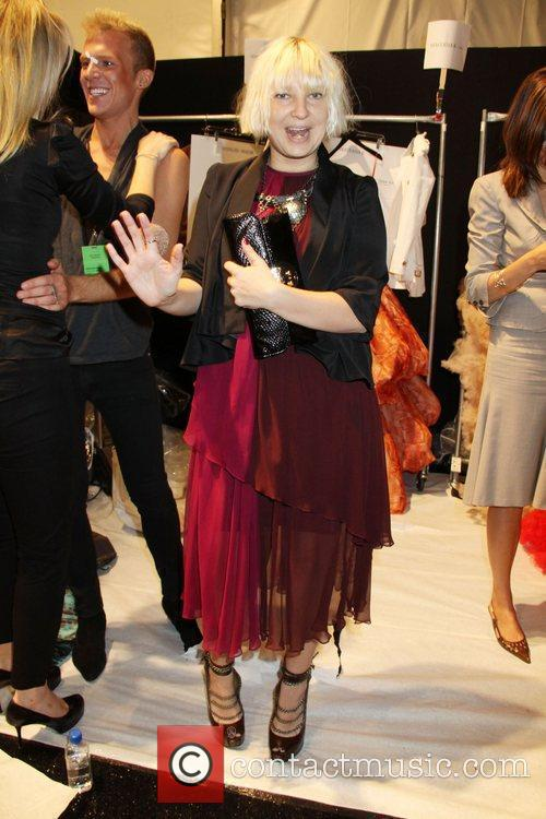 Sia, Christian Siriano, New York Fashion Week