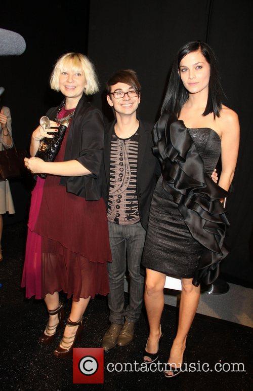 Sia, Christian Siriano and Leigh Lezark 6