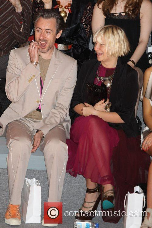 Alan Cumming, Christian Siriano and Sia 2