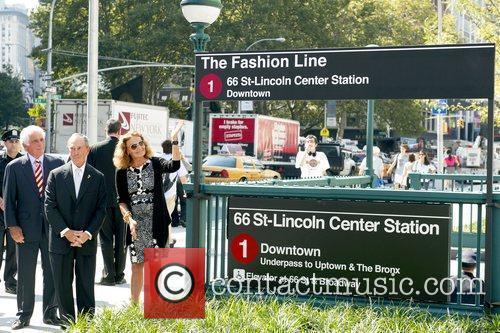 Ted Forstmann, Mayor Michael Bloomberg and Designer Diane...