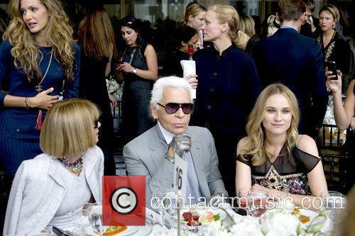 Anna Wintour, Diane Kruger, Karl Lagerfeld and The Fashion 2