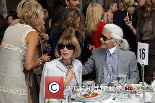 Anna Wintour, Karl Lagerfeld and The Fashion 3