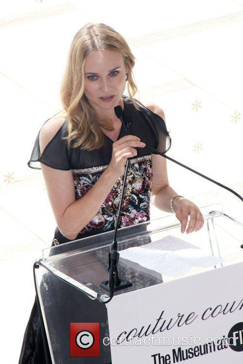 Diane Kruger, Karl Lagerfeld and The Fashion 1
