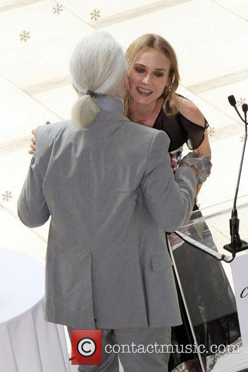 Karl Lagerfeld, Diane Kruger and The Fashion 6