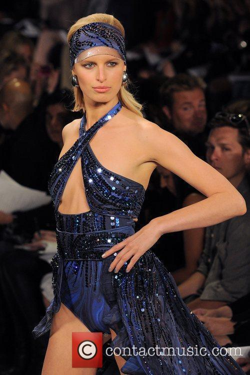 Karolina Kurkova Mercedes-Benz IMG New York Fashion Week...